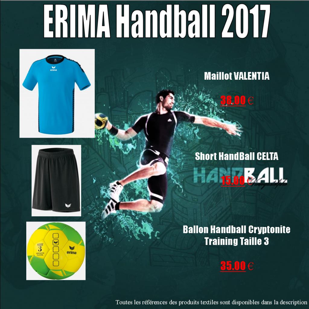 Sélection Handball par ERIMA