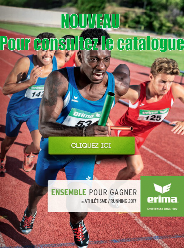 Catalogue Athlétisme 2017